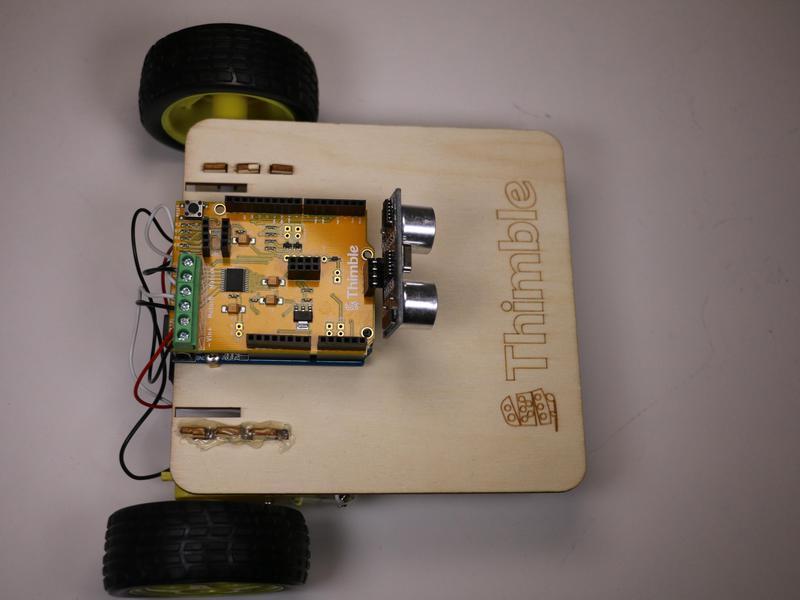 Ultrasonic Module in place